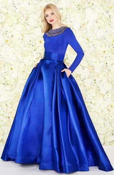 Long sweet 16 dresses