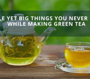 Making Green Tea