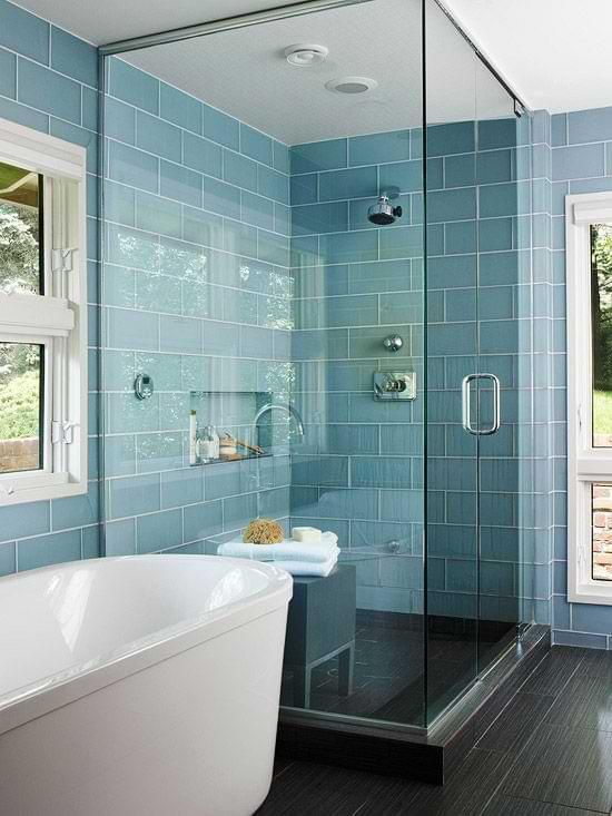 Glass Tiles For The Bathroom