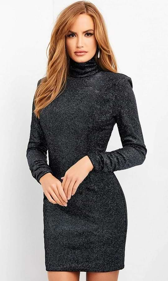 Turtle Neck Glitter Outfit