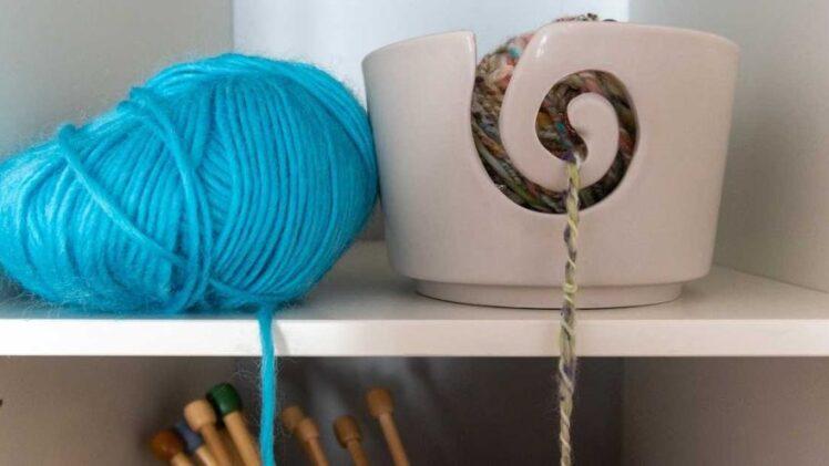 Wooden Yarn Bowls